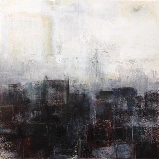 Ville - Atelier de peinture à Vevey par Fabienne Vogeli