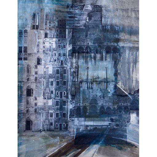 Ville - Cours de peinture à Vevey - Riviera par Fabienne Vogeli