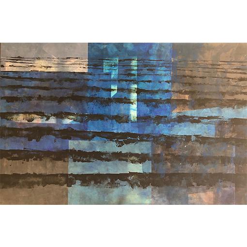 Collage - Cours de peinture à l'huile à Vevey par Fabienne Vogeli