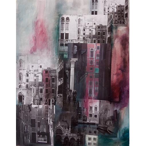 Ville de Venise - Atelier de peinture et dessin par Fabienne Vogeli à Vevey