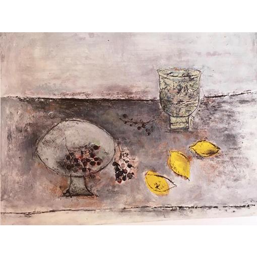 Nature morte - Cours de dessin et peinture à Vevey par Fabienne Vogeli