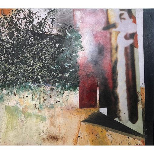 Collage et peinture- cours d'arts visuels à Vevey par Fabienne Vogeli