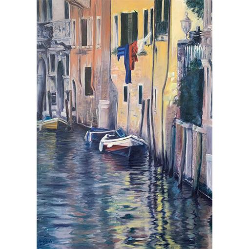 Venise - atelier de peinture à vevey par Fabienne Vogeli