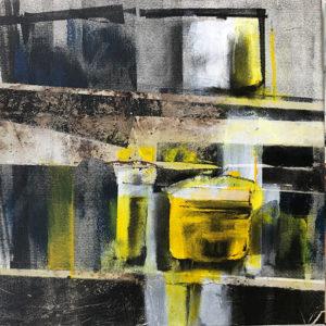 Collage et peinture - ateliers d'arts visuels à Vevey par Fabienne Vogeli