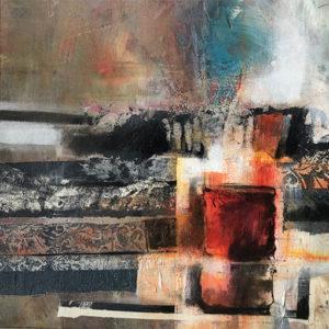 Collage et peinture - techniques et enseignements par Fabienne Vogeli à Vevey