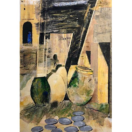 Ville - ateliers de peinture canton de Vaud par Fabienne Vogeli